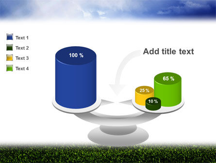 Green Field Under The Sun And Blue Sky PowerPoint Template Slide 10