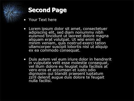 Digital Code PowerPoint Template, Slide 2, 03959, Telecommunication — PoweredTemplate.com