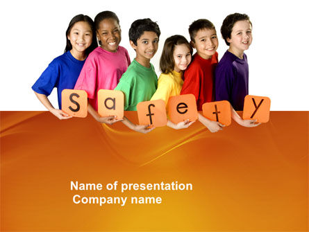 Education & Training: Eurosafe European Child Safety Alliance PowerPoint Template #03960