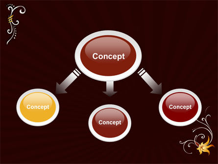 Ornament PowerPoint Template Slide 4