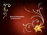 Abstract/Textures: Ornament PowerPoint Template #03962