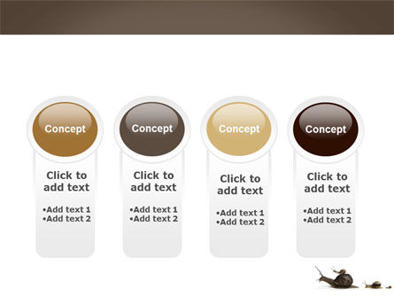 Snails On The Way PowerPoint Template Slide 5