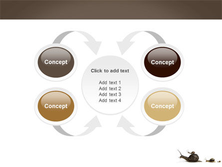 Snails On The Way PowerPoint Template Slide 6