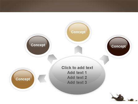 Snails On The Way PowerPoint Template Slide 7