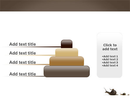 Snails On The Way PowerPoint Template Slide 8