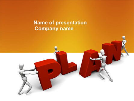 Plan PowerPoint Template