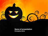 Holiday/Special Occasion: Halloween is Near PowerPoint Template #03967