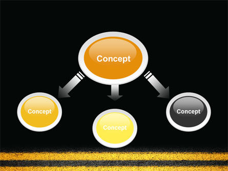 Road Marking PowerPoint Template, Slide 4, 03971, Cars and Transportation — PoweredTemplate.com