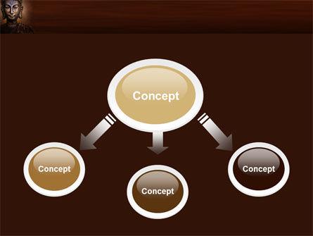 Buddha In Meditation PowerPoint Template, Slide 4, 03973, Religious/Spiritual — PoweredTemplate.com