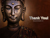 Buddha In Meditation PowerPoint Template#20