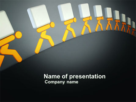 Load PowerPoint Template, 03975, Consulting — PoweredTemplate.com