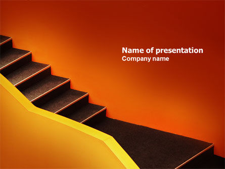 Abstract/Textures: Downshifting PowerPoint Template #03976