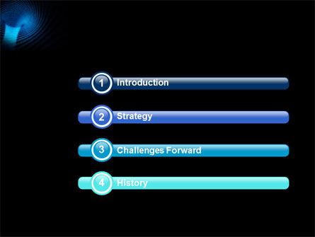 Digital Black Hole PowerPoint Template Slide 3