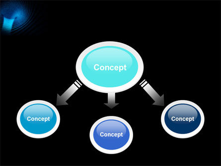 Digital Black Hole PowerPoint Template Slide 4