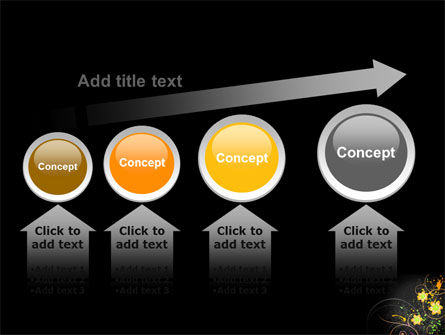 Yellow Flowers Pattern PowerPoint Template Slide 13