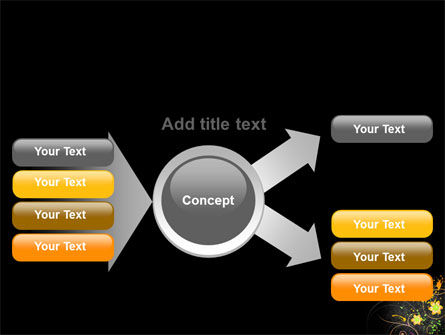 Yellow Flowers Pattern PowerPoint Template Slide 14