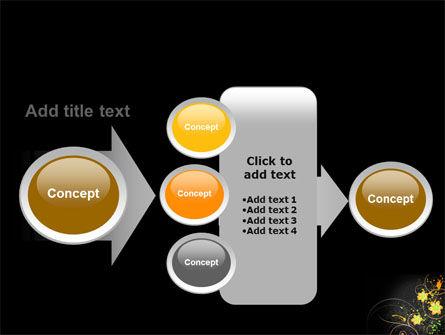 Yellow Flowers Pattern PowerPoint Template Slide 17