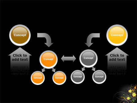 Yellow Flowers Pattern PowerPoint Template Slide 19