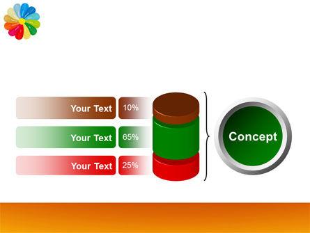 Rainbow Calendar PowerPoint Template Slide 11