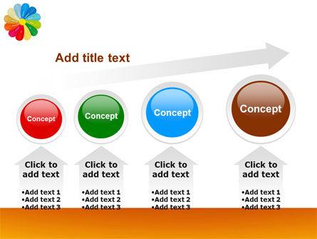 Rainbow Calendar PowerPoint Template Slide 13