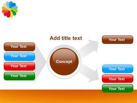 Rainbow Calendar PowerPoint Template Slide 14
