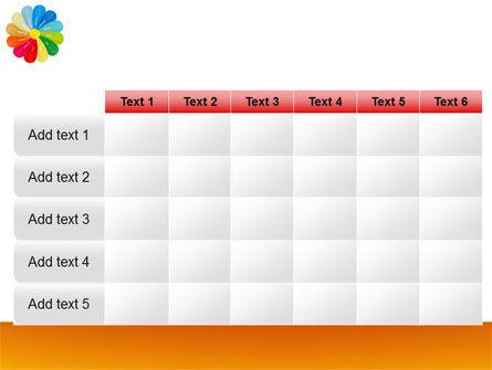 Rainbow Calendar PowerPoint Template Slide 15