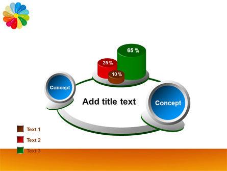 Rainbow Calendar PowerPoint Template Slide 16