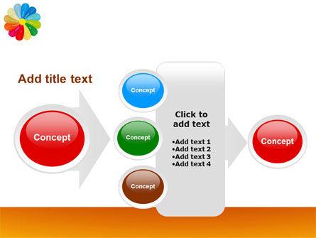 Rainbow Calendar PowerPoint Template Slide 17