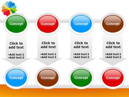 Rainbow Calendar PowerPoint Template Slide 18