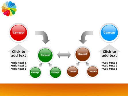 Rainbow Calendar PowerPoint Template Slide 19