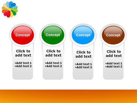 Rainbow Calendar PowerPoint Template Slide 5