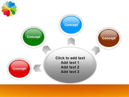 Rainbow Calendar PowerPoint Template Slide 7
