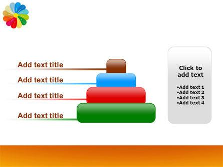 Rainbow Calendar PowerPoint Template Slide 8