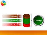 Rainbow Calendar PowerPoint Template#11