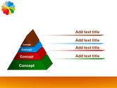 Rainbow Calendar PowerPoint Template#12
