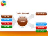 Rainbow Calendar PowerPoint Template#14