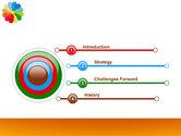 Rainbow Calendar PowerPoint Template#3