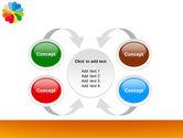 Rainbow Calendar PowerPoint Template#6