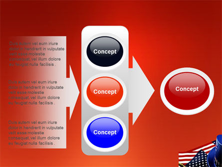 Symbols Of USA Elections PowerPoint Template Slide 11