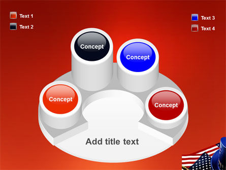 Symbols Of USA Elections PowerPoint Template Slide 12