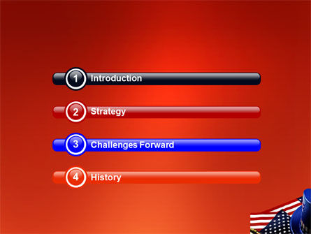Symbols Of USA Elections PowerPoint Template Slide 3