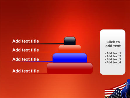 Symbols Of USA Elections PowerPoint Template Slide 8