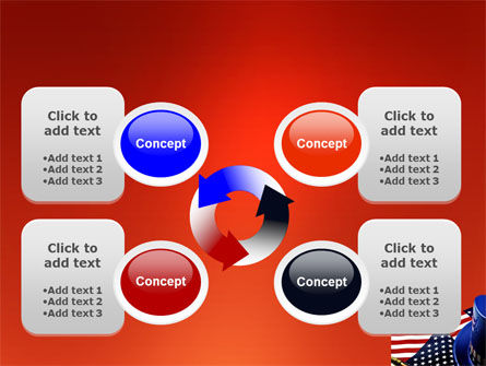 Symbols Of USA Elections PowerPoint Template Slide 9