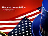 America: Symbols Of USA Elections PowerPoint Template #03982