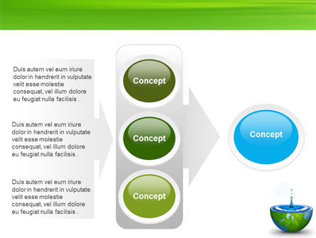 Blue Water Of A Green Planet PowerPoint Template Slide 11