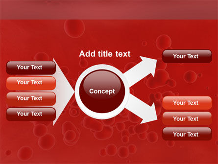 Blood PowerPoint Template Slide 14