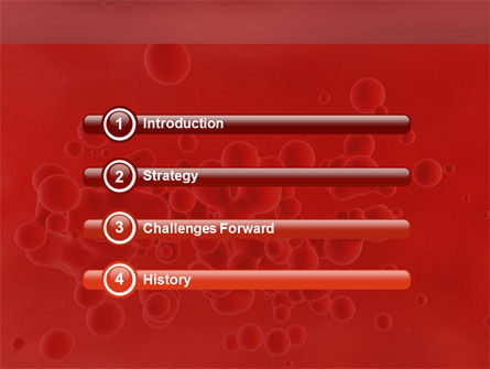 Blood PowerPoint Template Slide 3