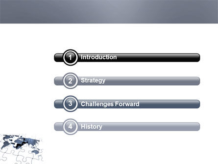 Map Fragments PowerPoint Template Slide 3