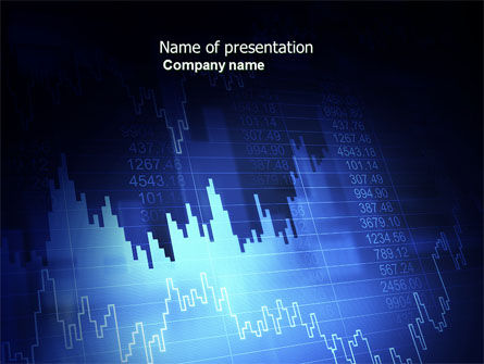 Stock Prices PowerPoint Template, 03993, Financial/Accounting — PoweredTemplate.com