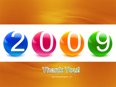 2009 year PowerPoint Template Slide 20